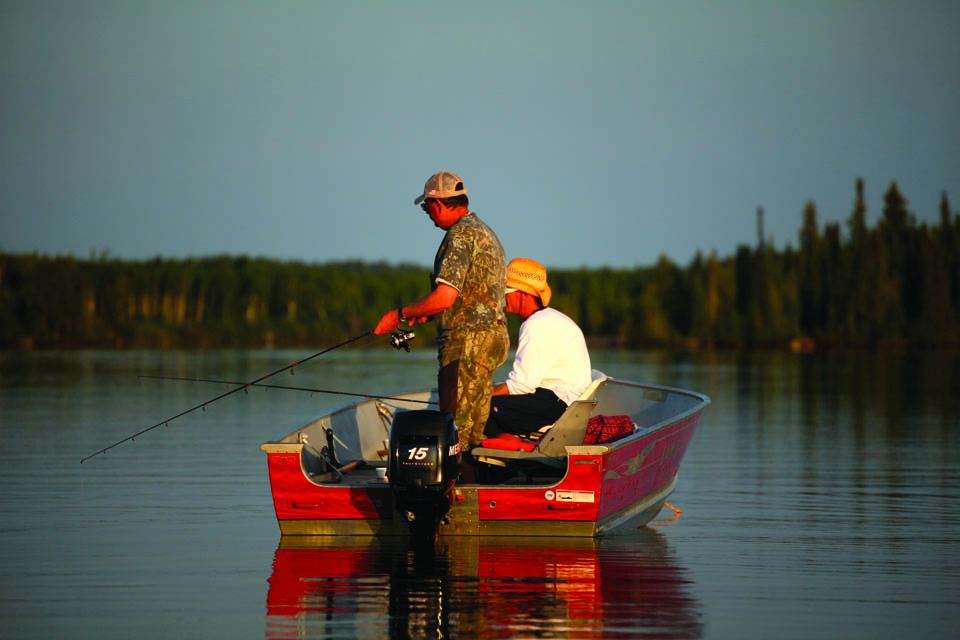 Fly-In Outposts on Exclusive Lakes in Manitoba and Eastern Ontario