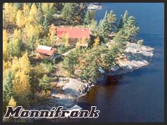 Mannifrank is a comfortable outpost camp with 3BR, shower, full kitchen and dining room.