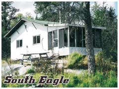 South Eagle is a non-modern outpost camp.  Its just an affordable basic camp on a great lake.  There is a kitchen, refrigerator and 4 boats.