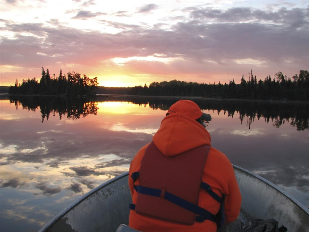Hunting in the remote Atikaki Provincial Park