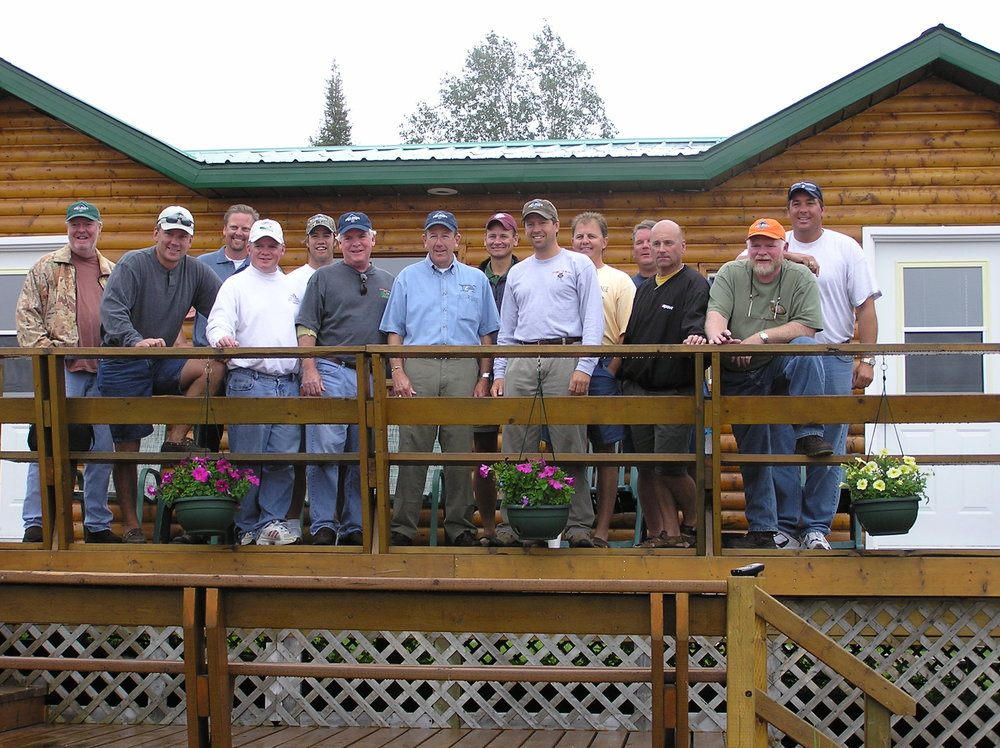 Groups of all sizes do well at Dogskin Lake Lodge