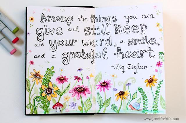 Gratitude 52 Journal Prompt #1