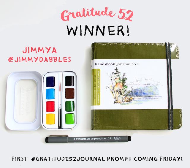 Gratitude 52 Winner