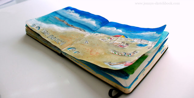 Gratitude Sketchbook - Journal Pages by Jennifer Frith