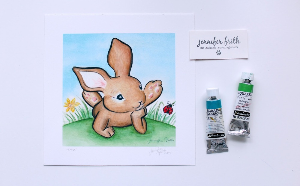 Etsy shop watercolor paintings for sale