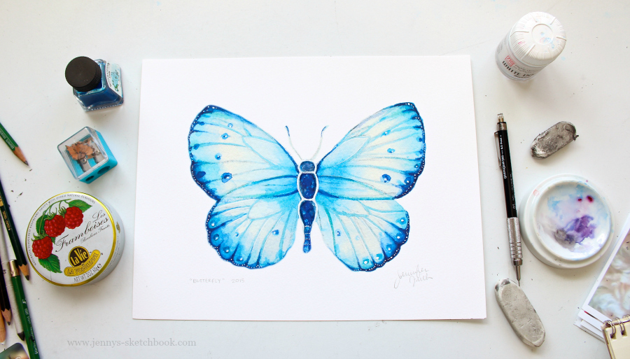 watercolor artist, vibrant art prints for sale
