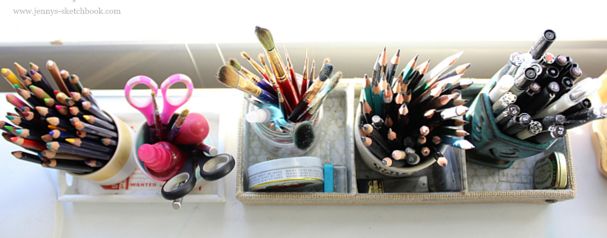 jennifer frith's studio - art supplies