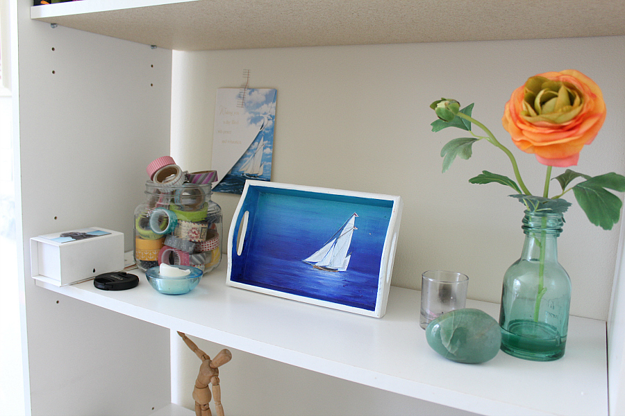 jennifer frith's studio - sailboat painting