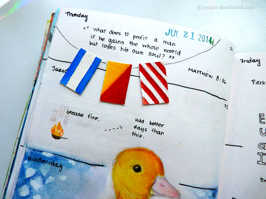 Journal Pages by Jenny Frith
