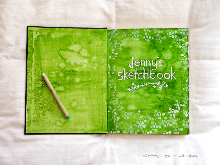 jennifer frith sketchbook