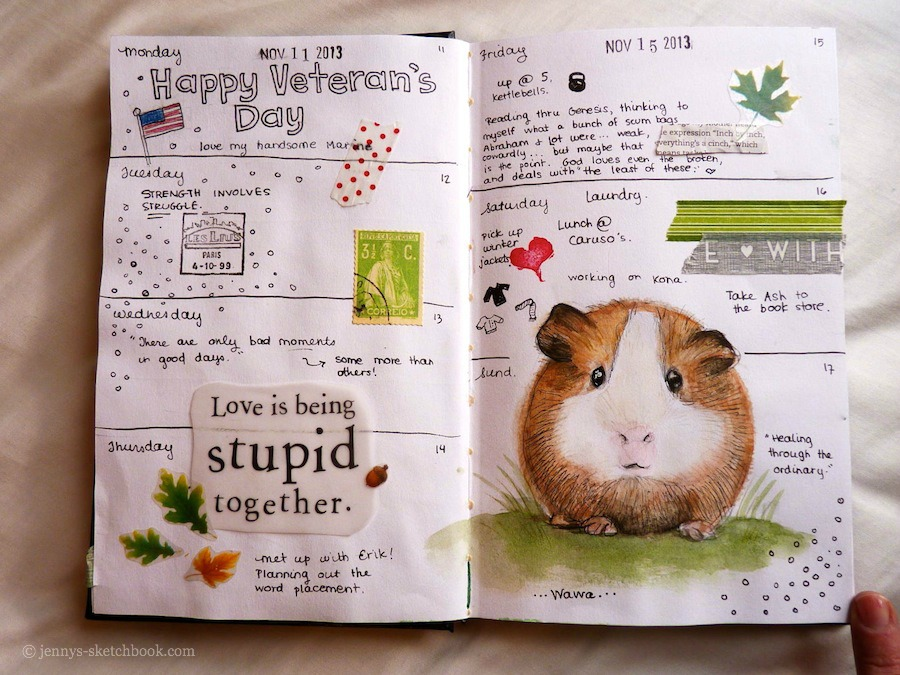 jennifer frith journal page