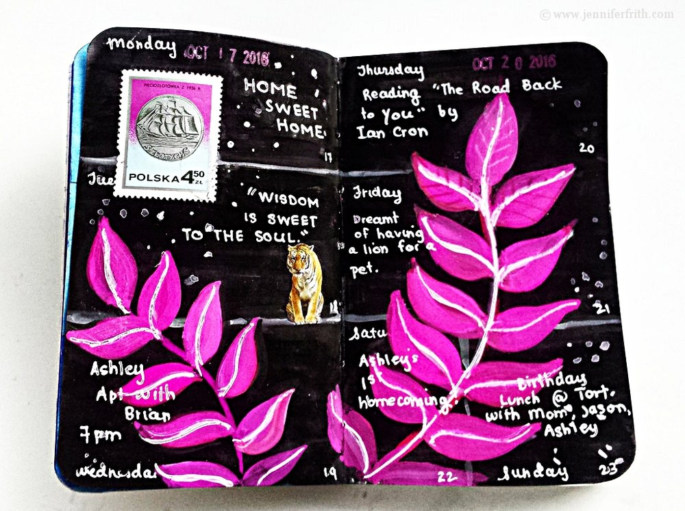 jennifer frith sketchbook journal