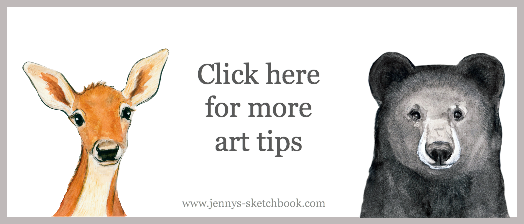Jennifer Frith Art Tips