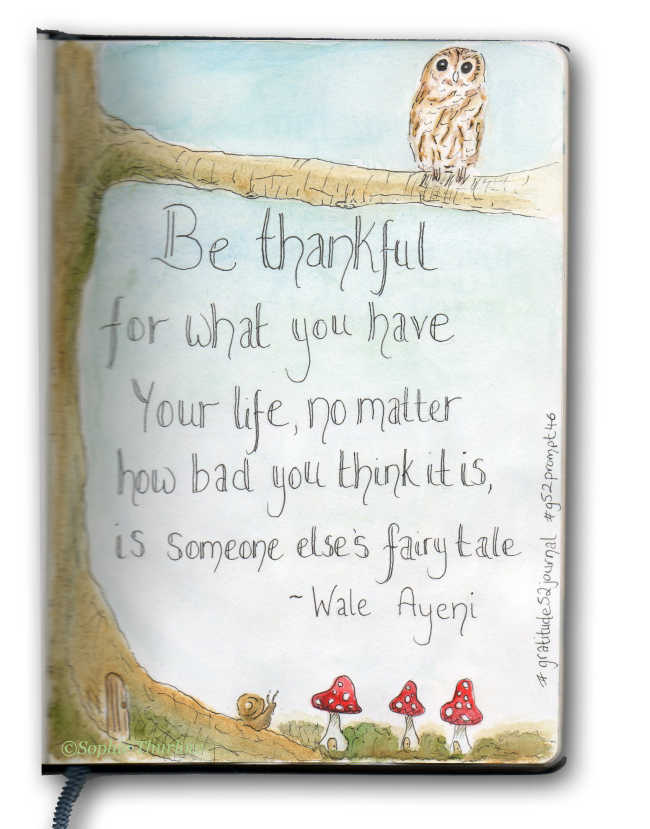 gratitude journal - sophie thurlow