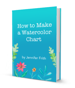 How to Make a Watercolor Chart e-Book