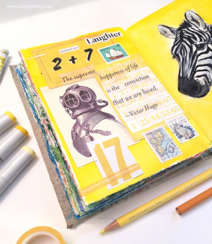 Sunday Sketchbook by Jennifer Frith