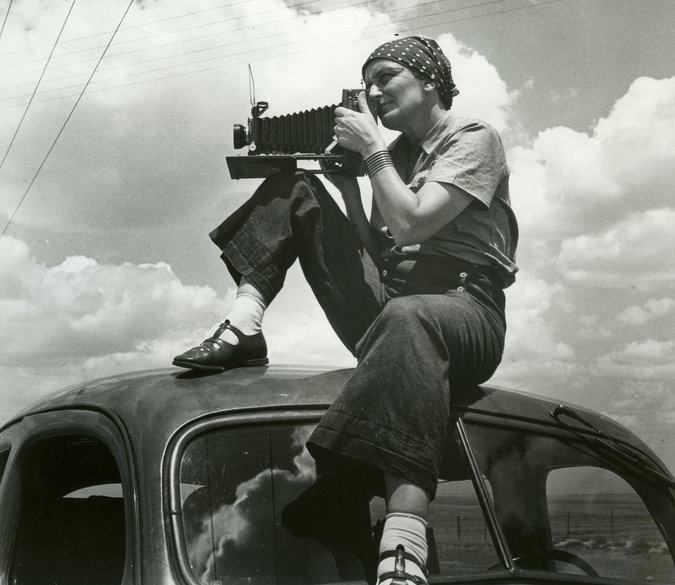 Dorothea Lange, 1930s. Photo credit Paul Schuster Taylor.