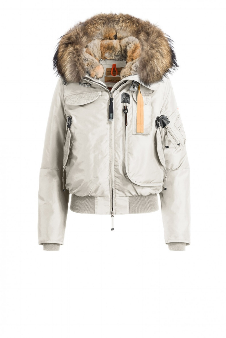 Parajumpers Gobi jacket with raccoon and rabbit fur lined hood. I am not a fan of fur but I love the look of this jacket.