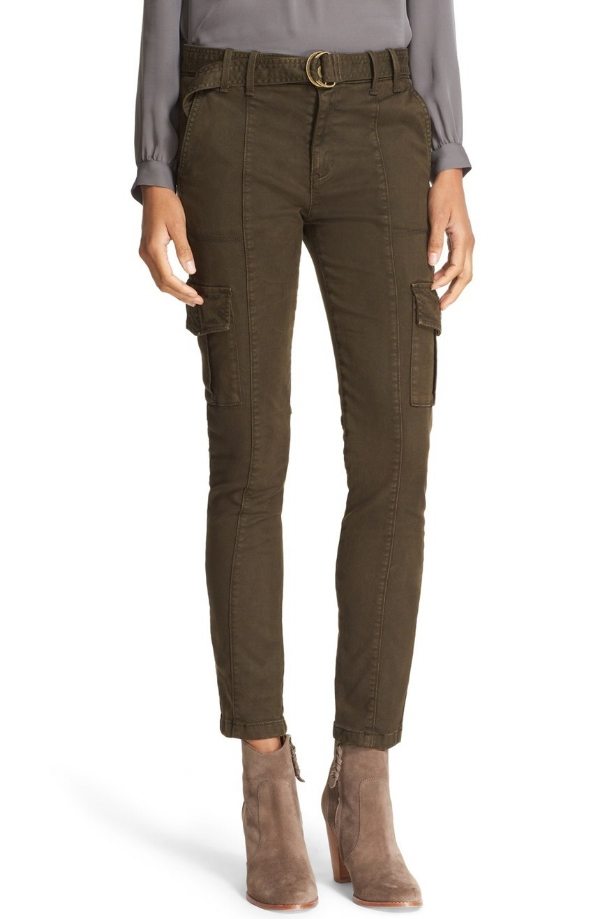 Joie Skinny cargos. I live in pants like these.