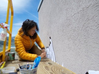 Muralist Jane Kim is living a dynamic life bringing back the art of the diorama. Read her interview here.