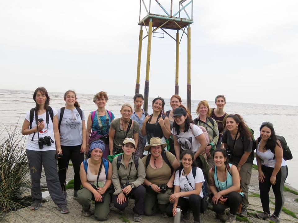 COA Feminista at  Bernal Nature Reserve , Buenos Aires, Argentina, September 2018.