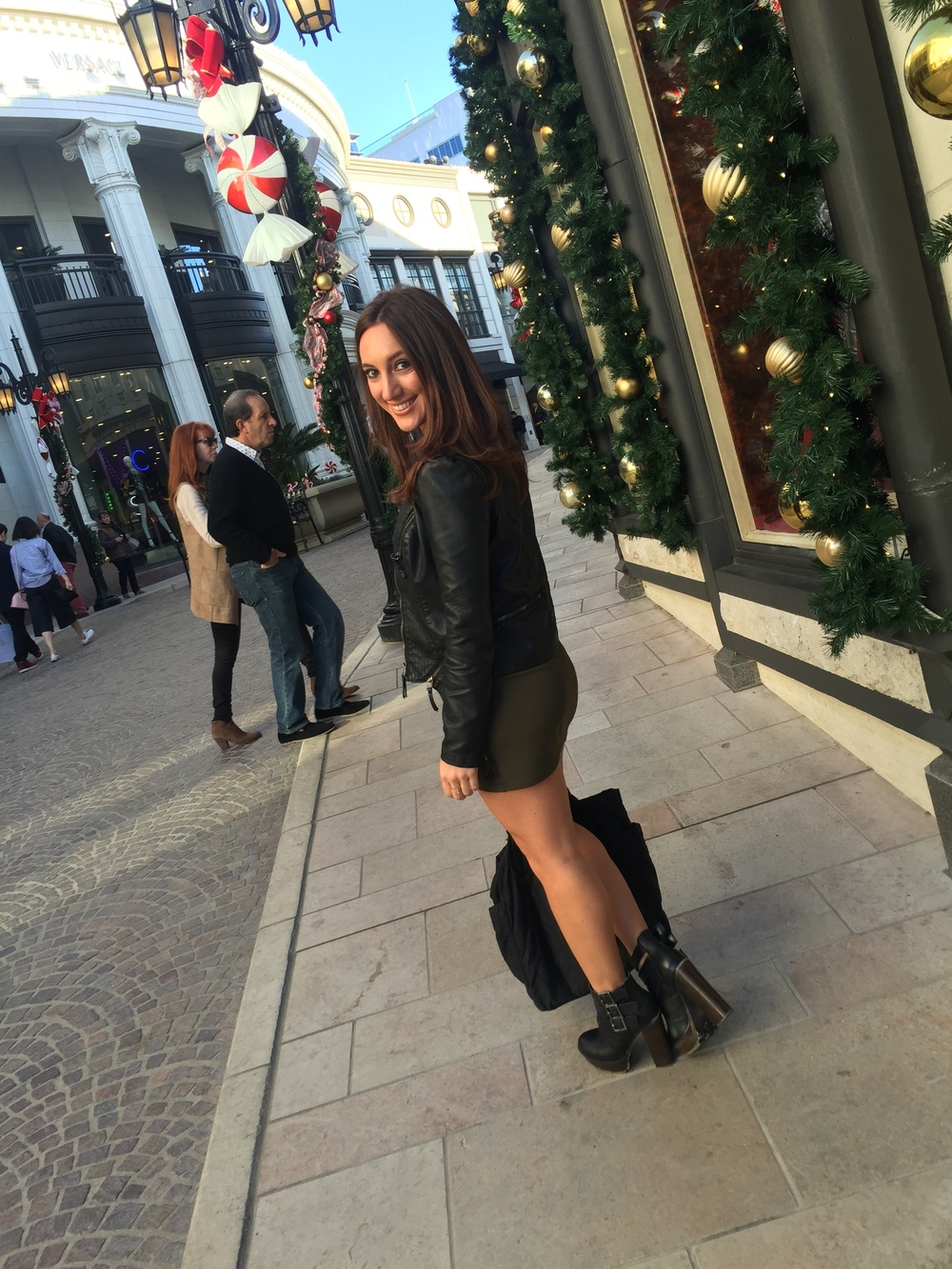 Brielle Galekovic on Rodeo Drive