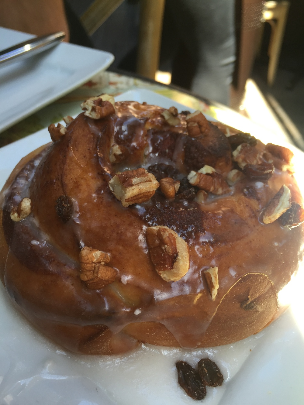Cinnamon Roll at The Patio on Lamont