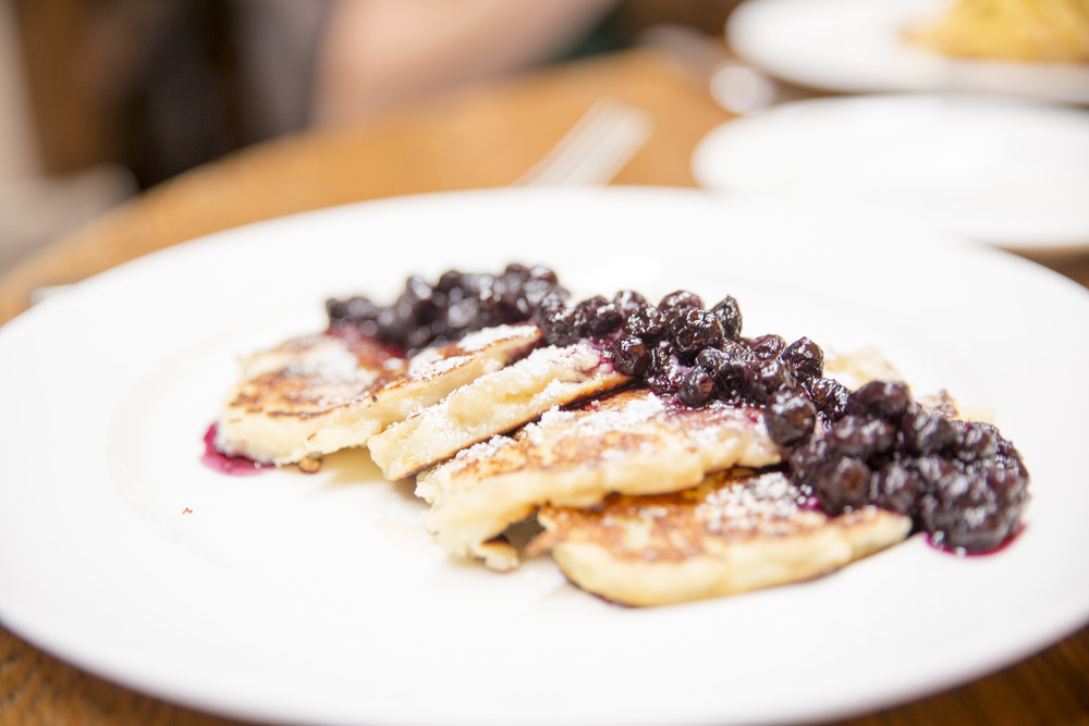 Ricotta Hotcakes at Cecconi's West Hollywood