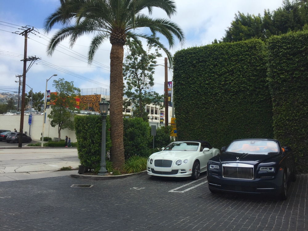 Valet at Cecconi's West Hollywood