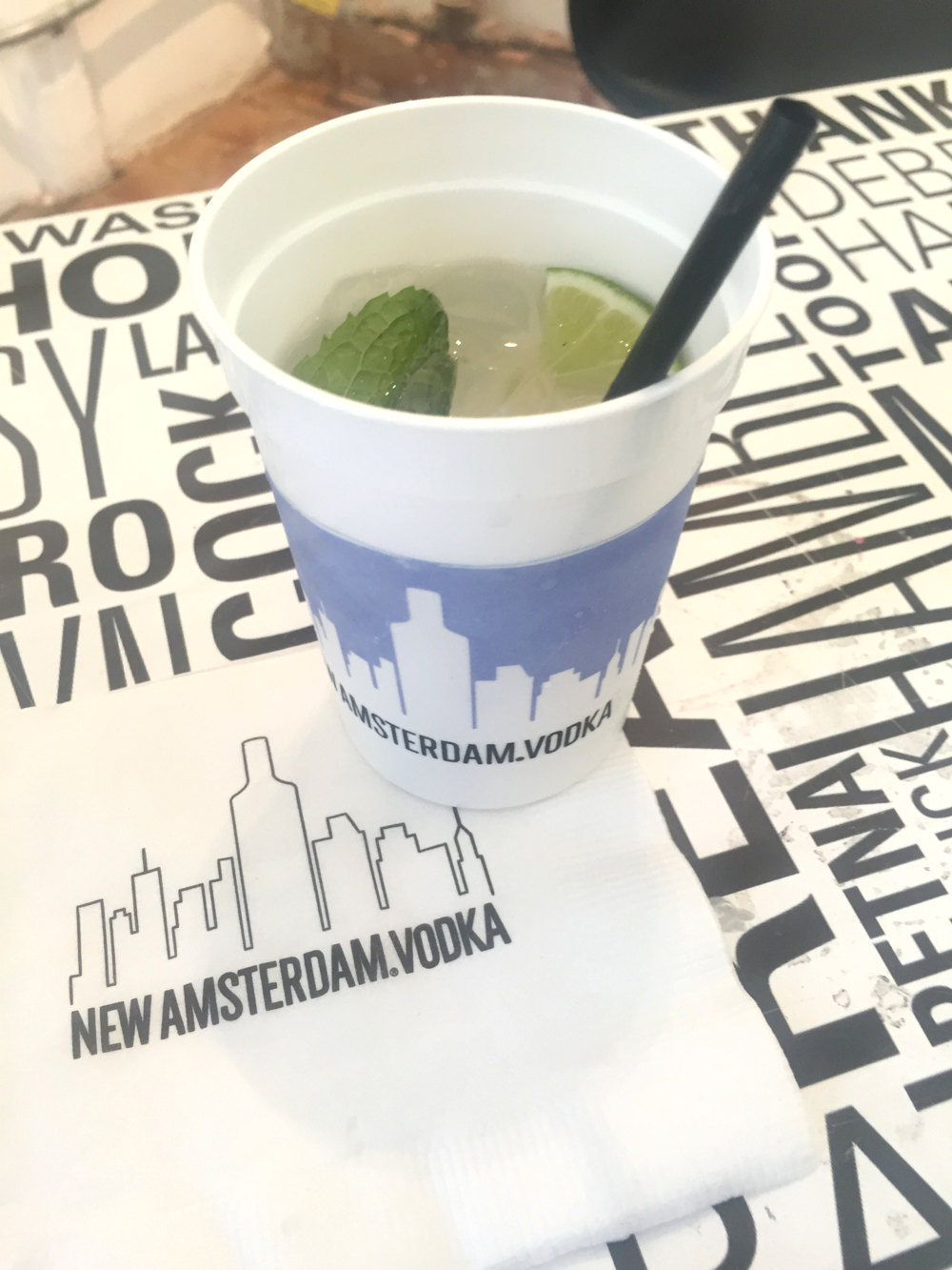 Dam Good Mule at the New Amsterdam Vodka It's Your Town Event