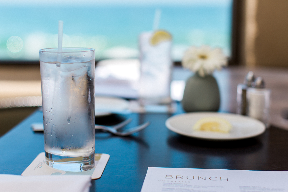 Brunch Menu at Splashes at Surf & Sand Hotel
