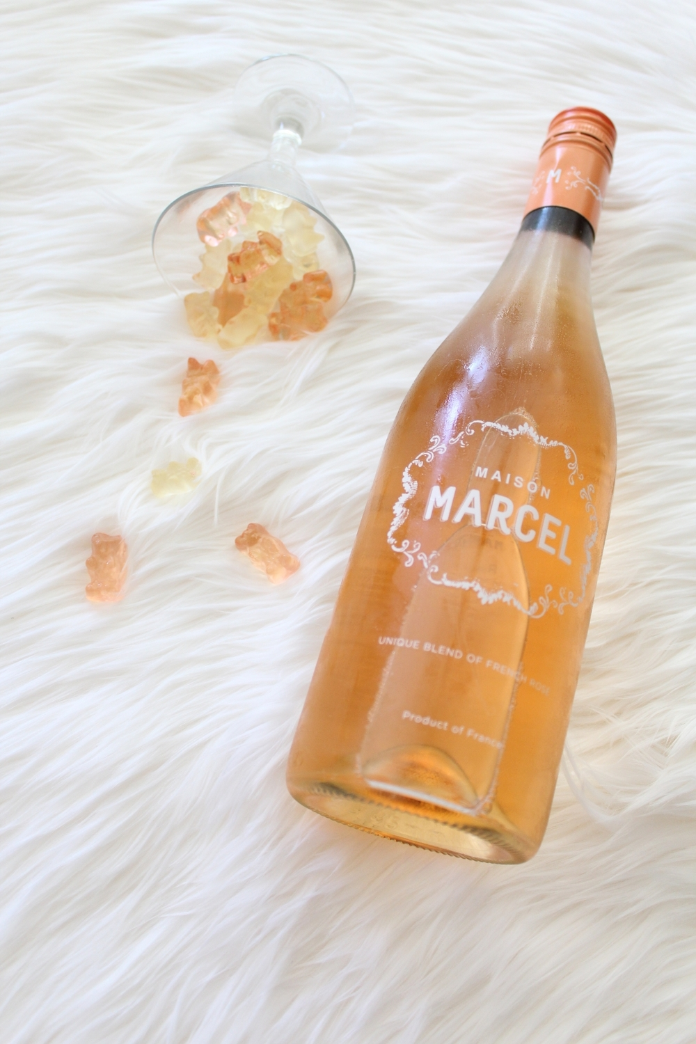 MAISON Marcel Rosé Gummy Bears on The Gilded Bellini