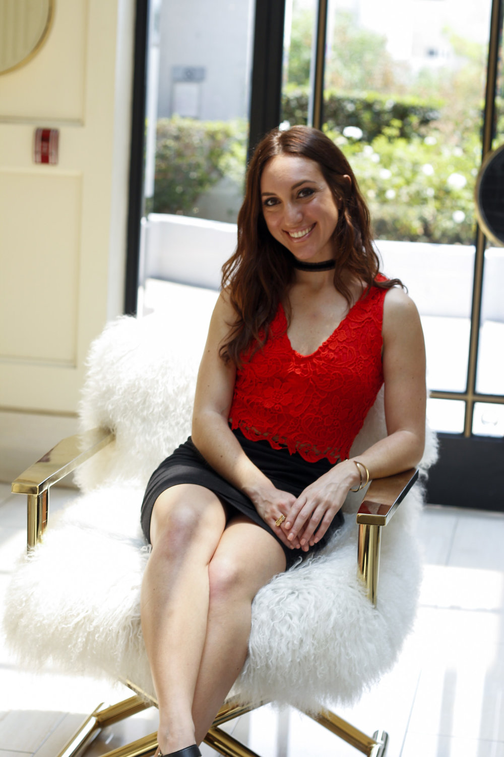 Brielle Galekovic of The Gilded Bellini at The London West Hollywood