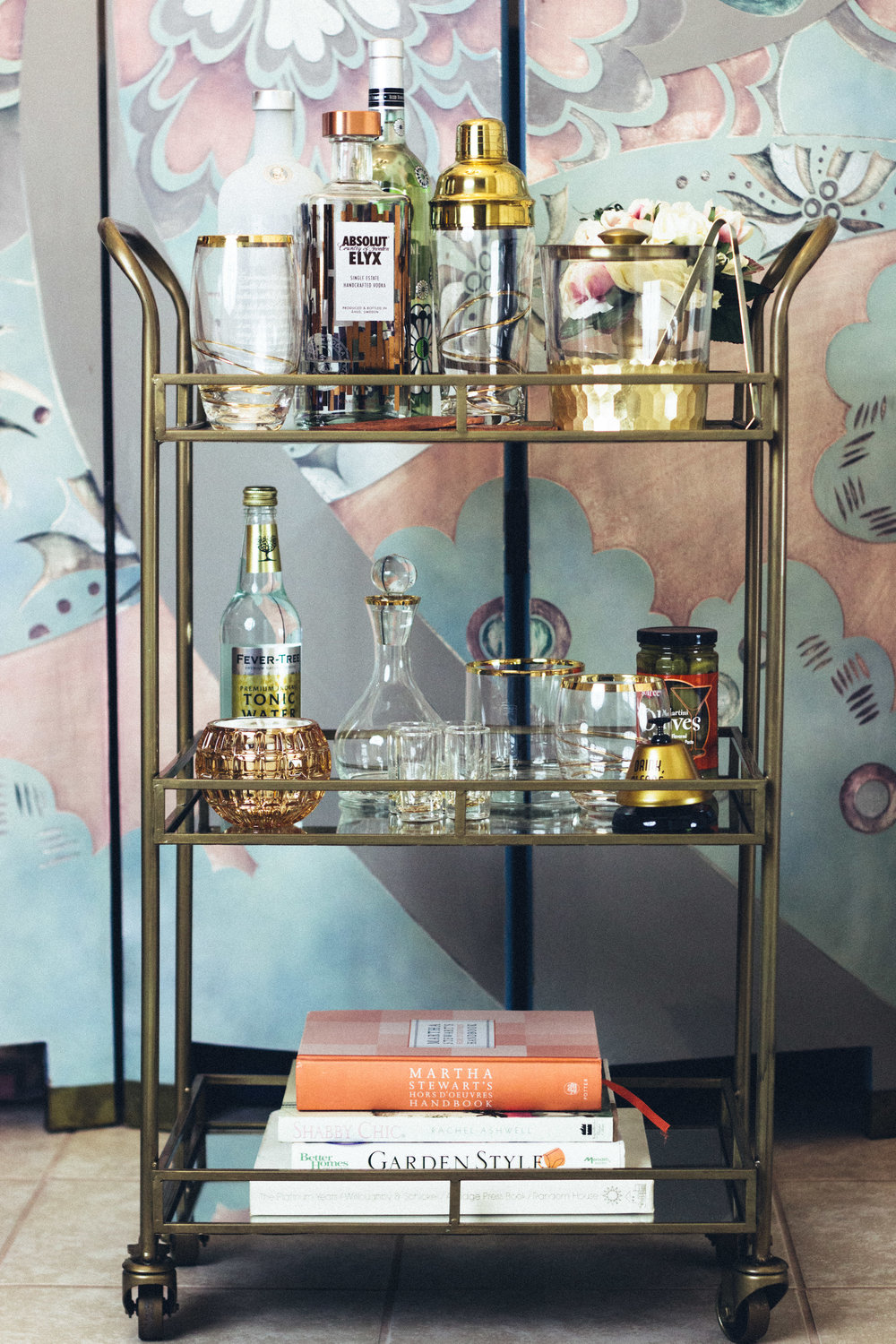 At Home Pop-Up Bar with The Gilded Bellini