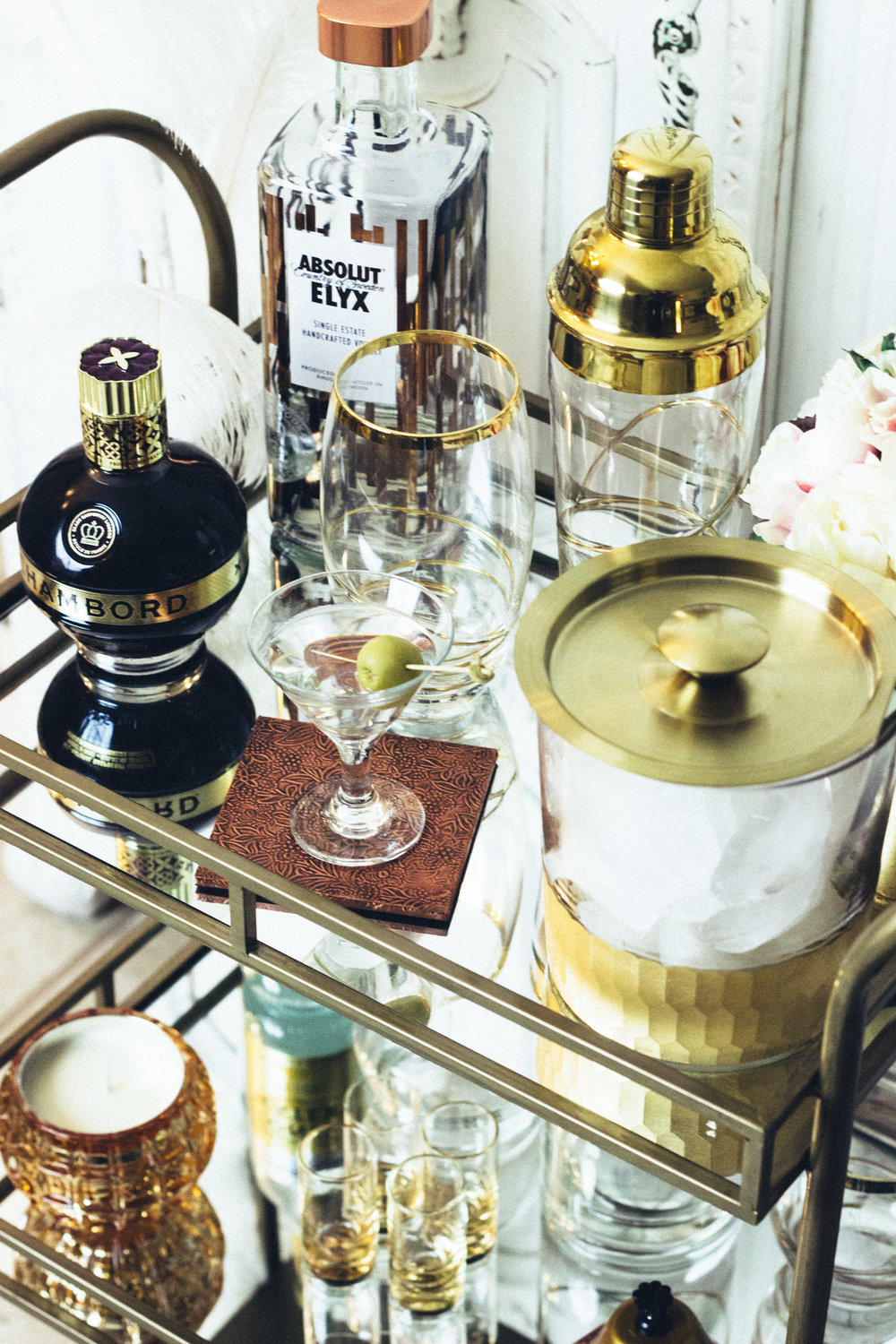 At-Home Pop-Up Bar with The Gilded Bellini