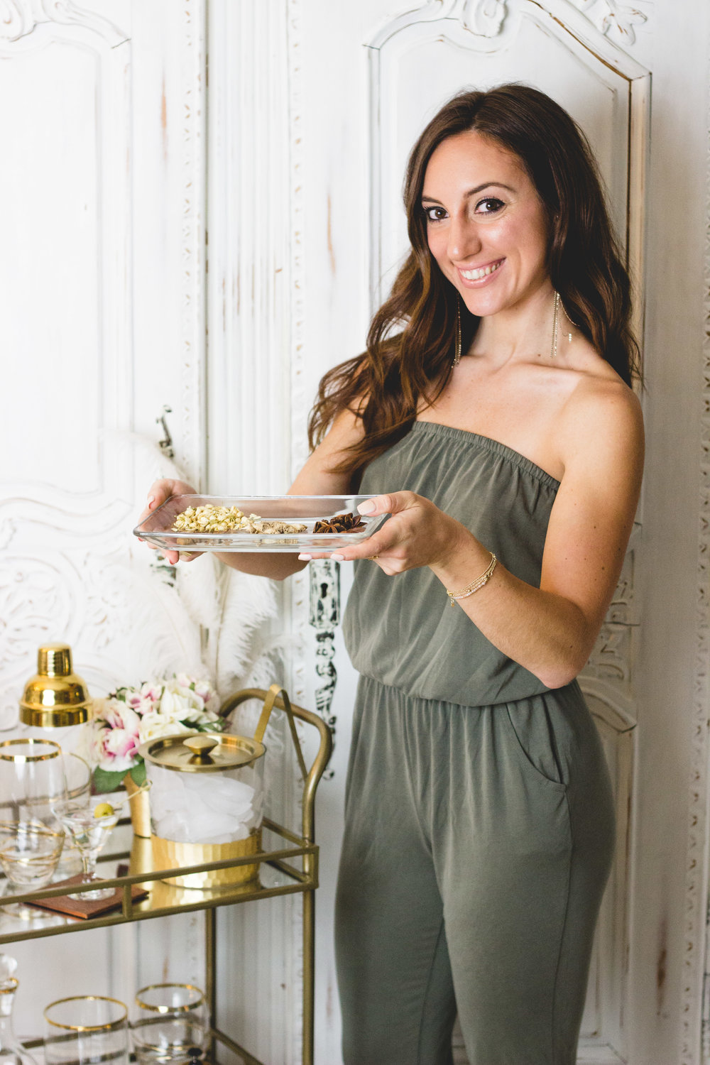 Brielle Galekovic of The Gilded Bellini - At-Home Pop-Up Bar