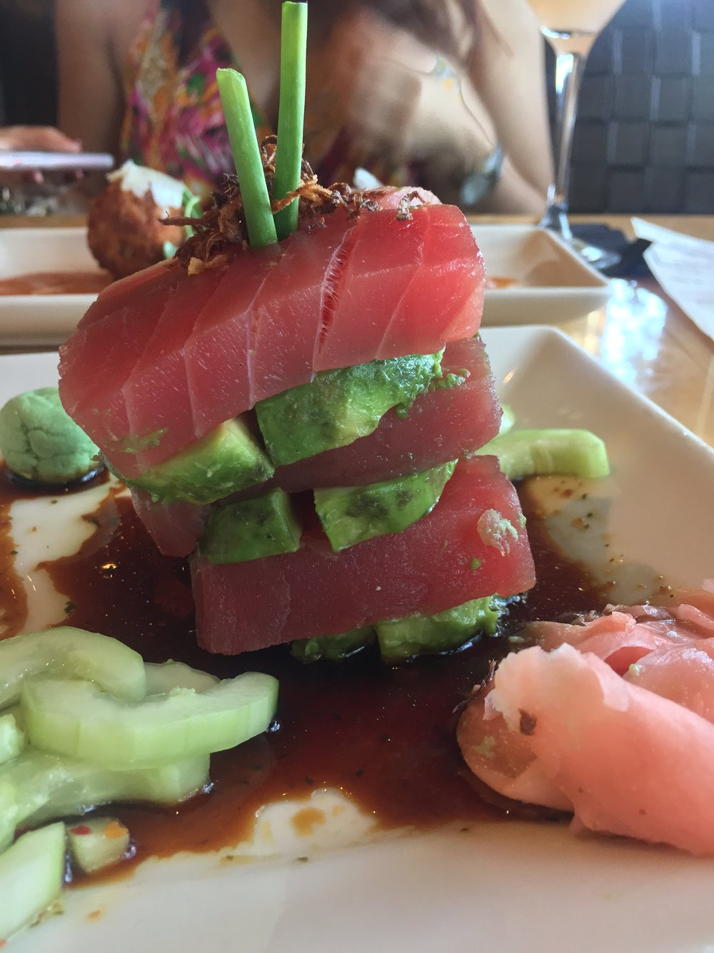 Ahi Tuna Stack at Salt Creek Grille