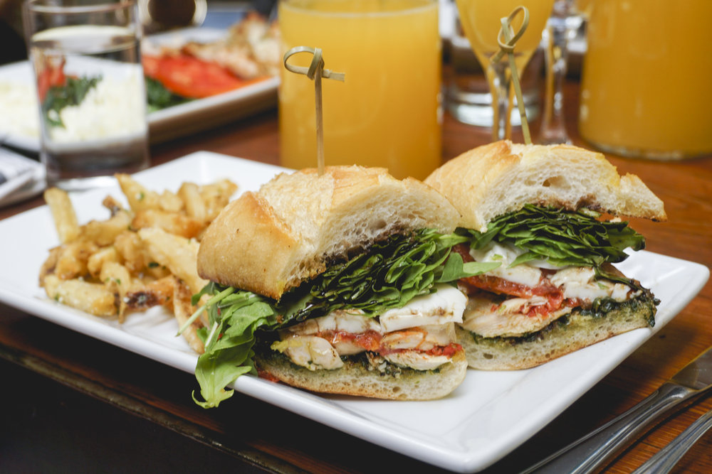 Chicken Sandwich at The Hudson LA