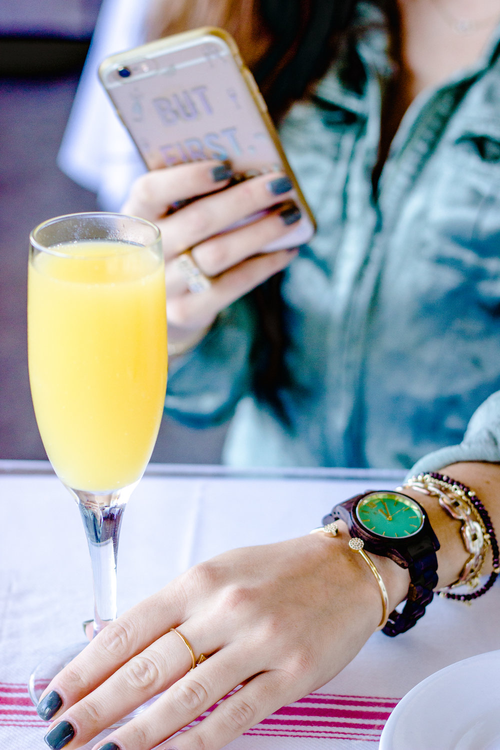 Frankie JORD Wood Watch on The Gilded Bellini