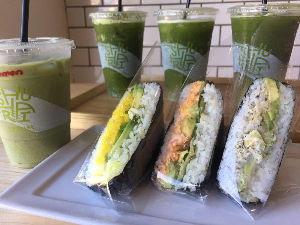 Onigirazu at SHUHARI Matcha Café
