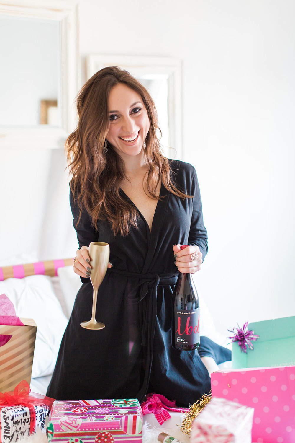 Brielle Galekovic of The Gilded Bellini with LBD Wines