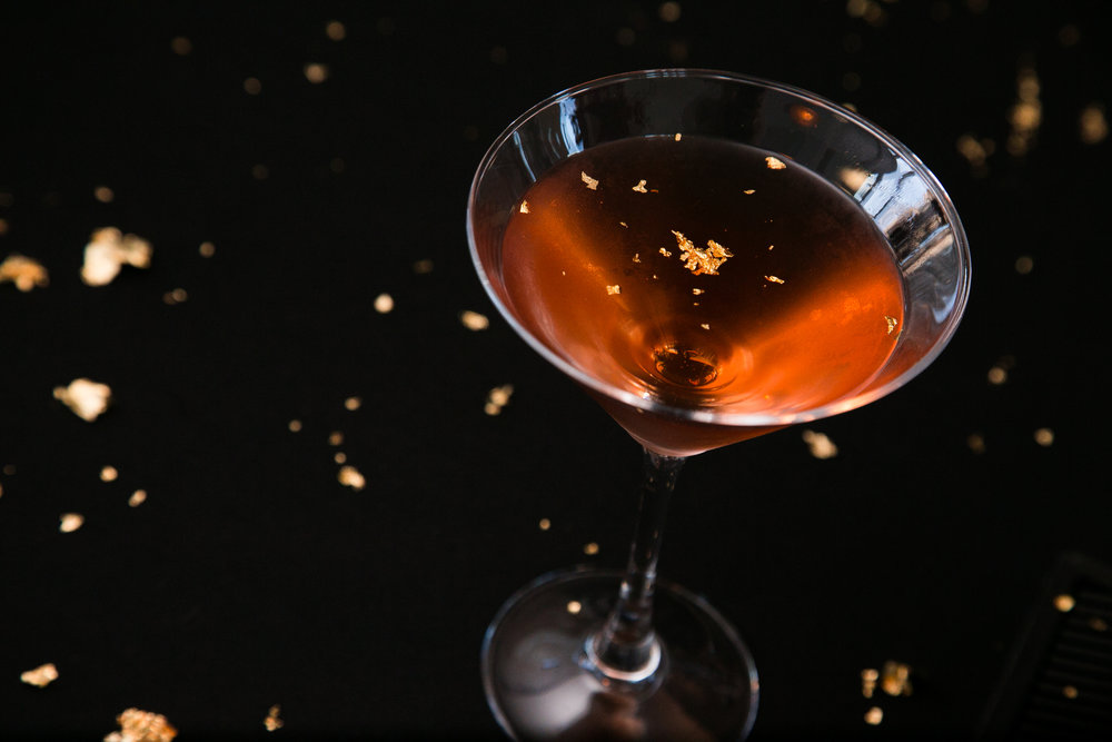 Golden Hour Cocktail with Elit Vodka
