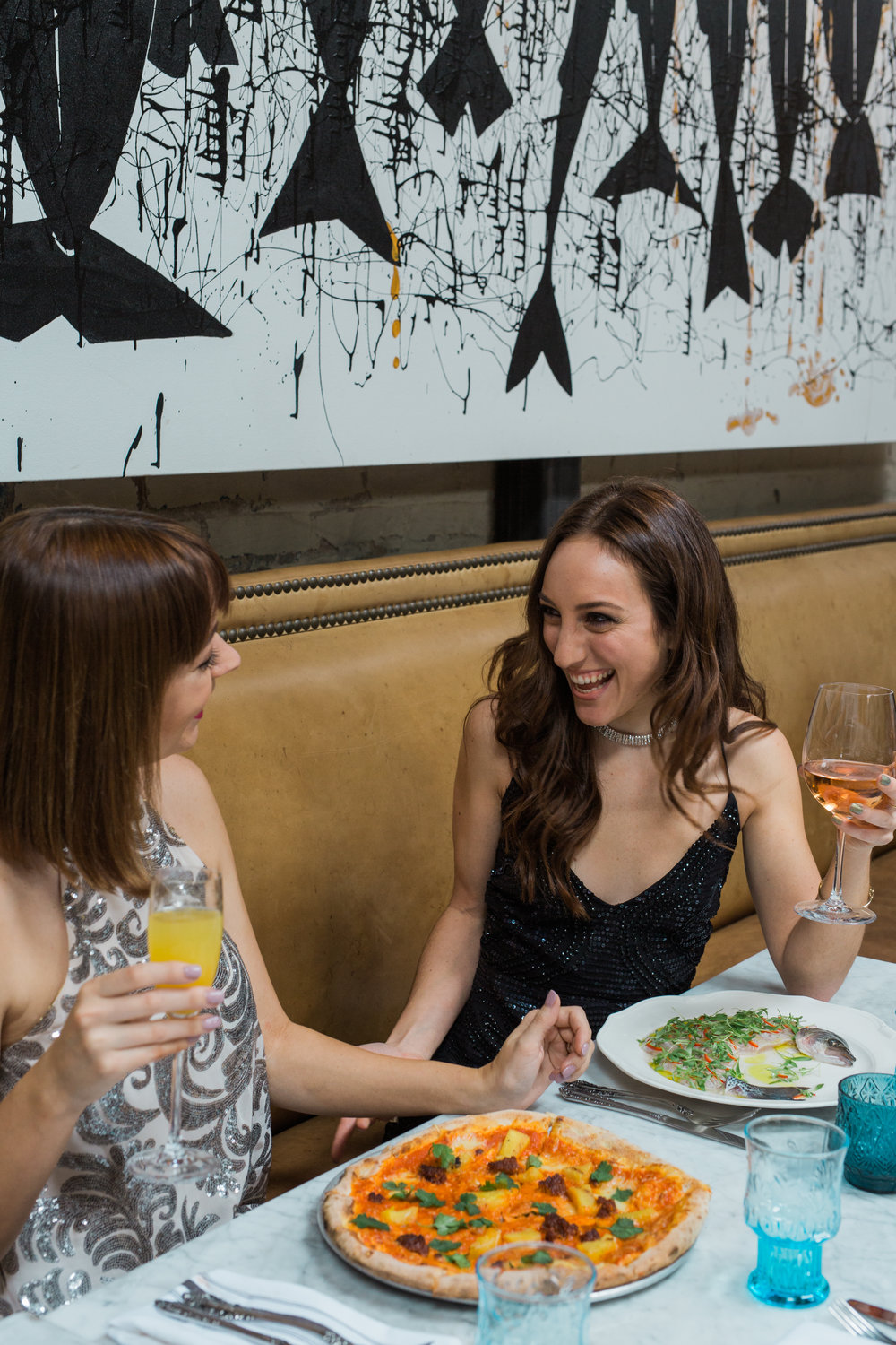 Sophie Mae and Brielle Galekovic of The Gilded Bellini at Herringbone La Jolla