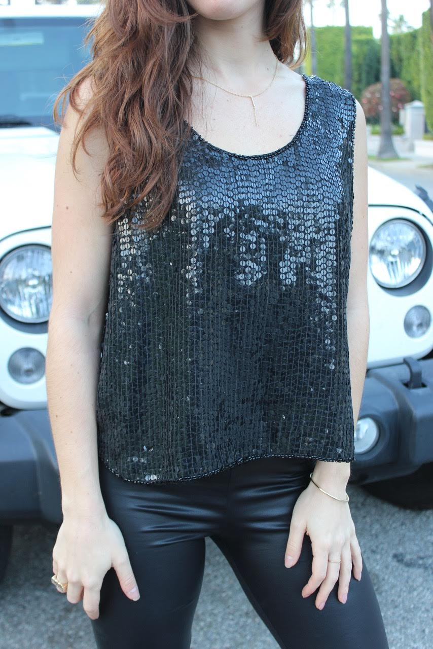 Sequin Top from Blossom Atelier