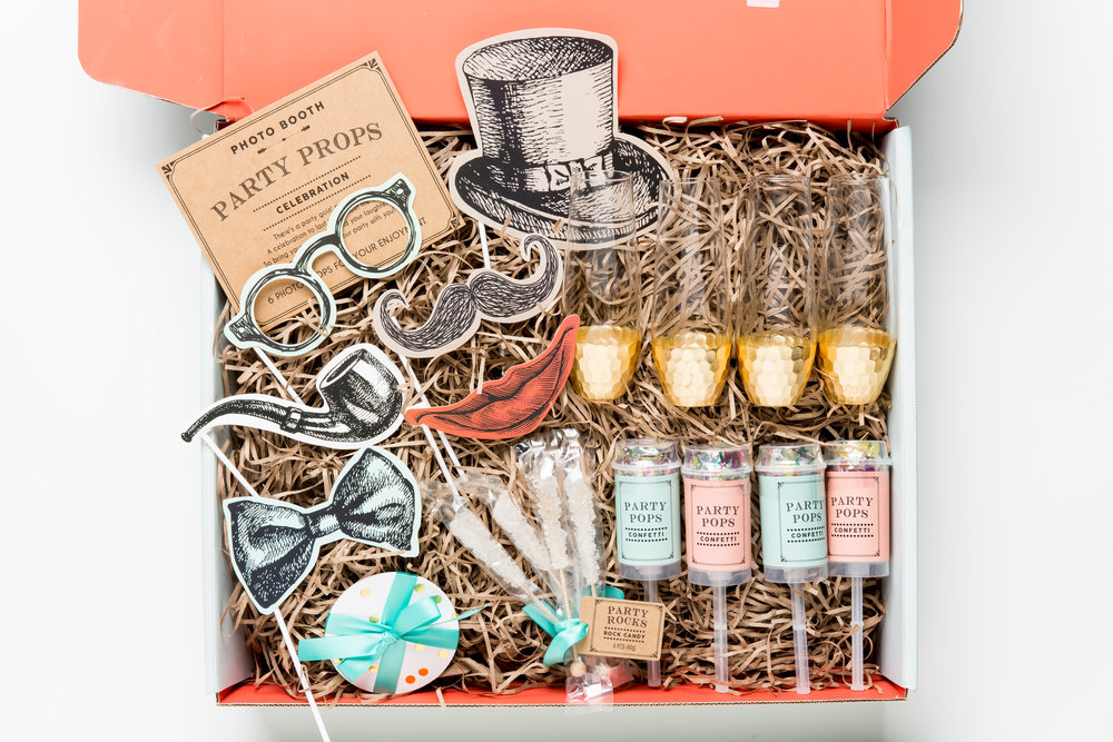 Thoughtfully Party Props Champagne Box