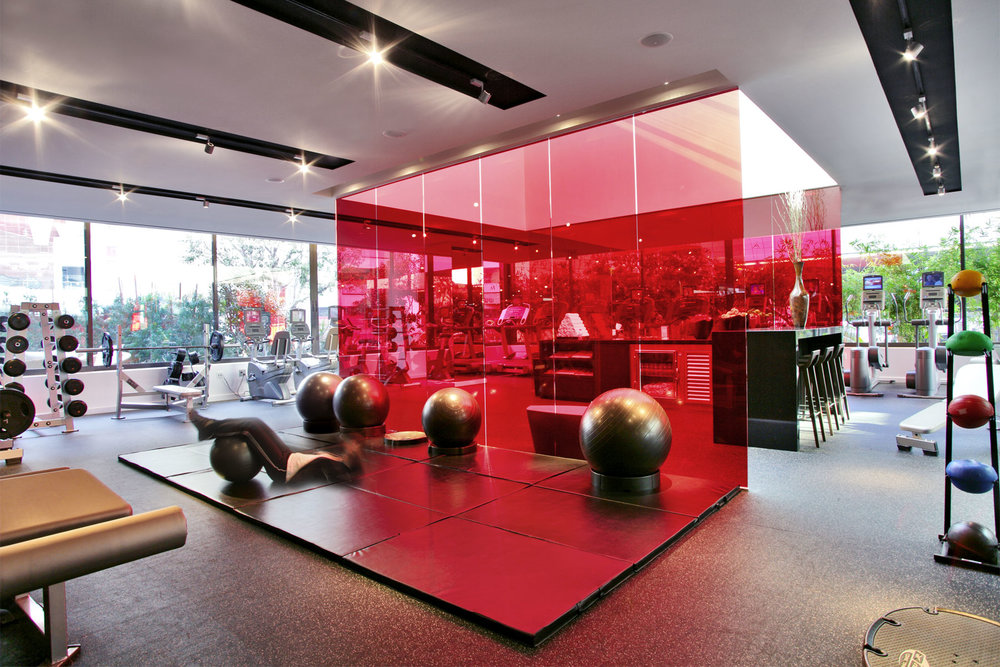 Fitness Center at The Sofitel Hotel Los Angeles at Beverly Hills