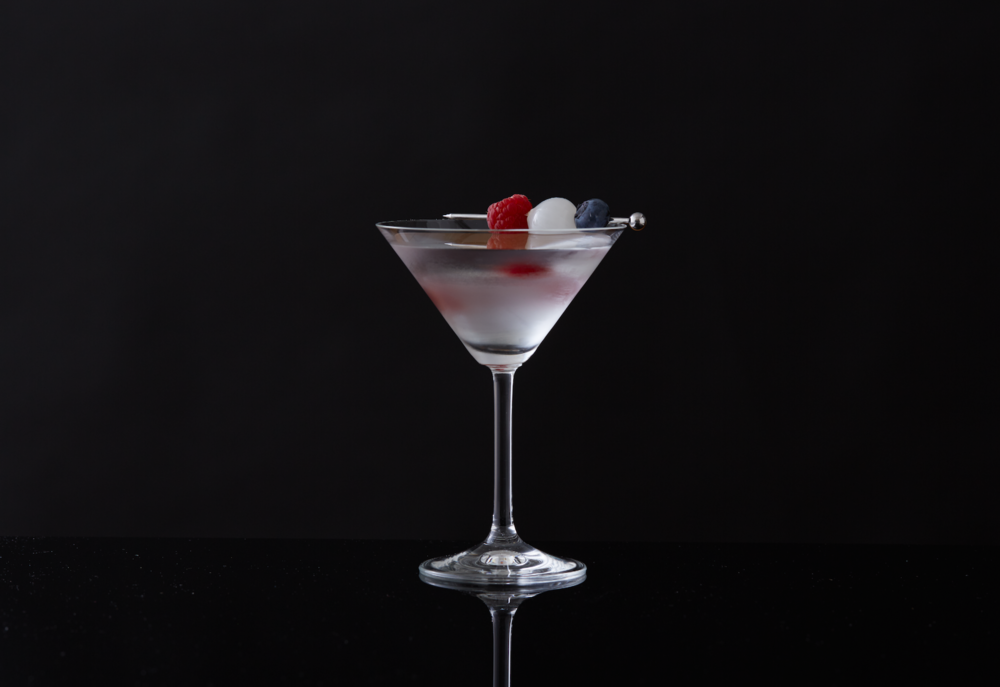Firecracker Martini on The Gilded Bellini