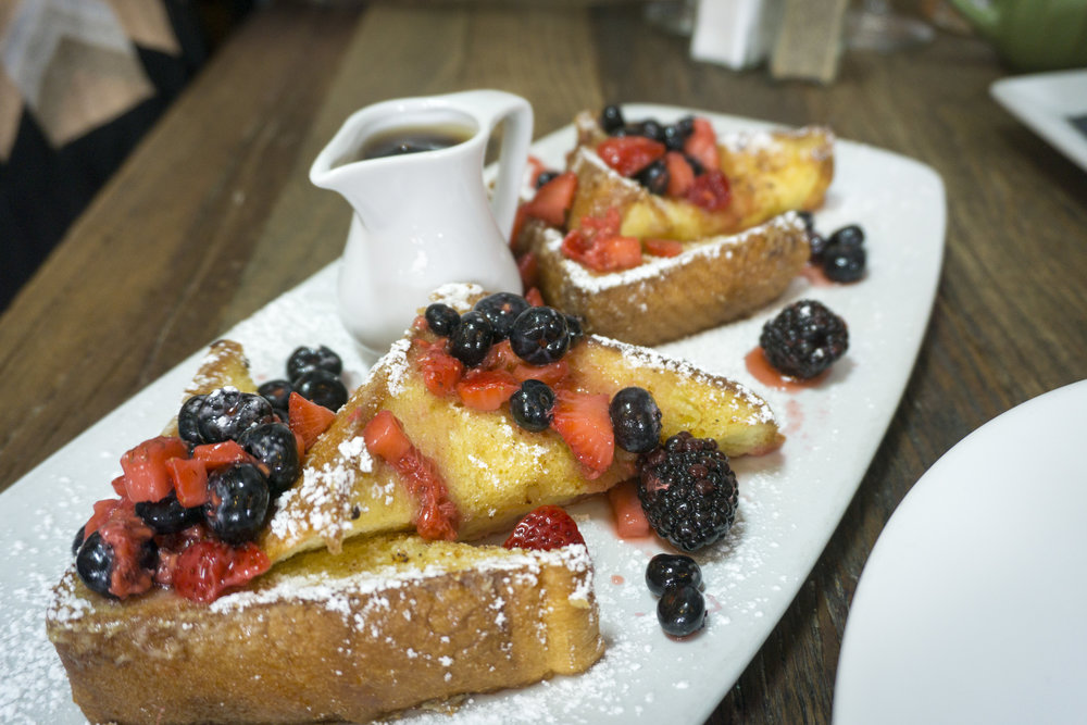 French Toast at The Rockefeller Manhattan Beach