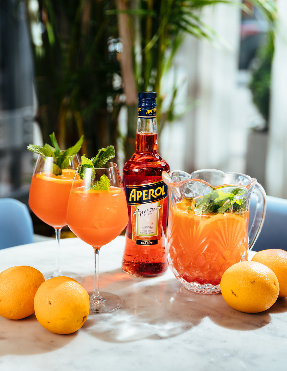 Aperol Spritz on The Gilded Bellini