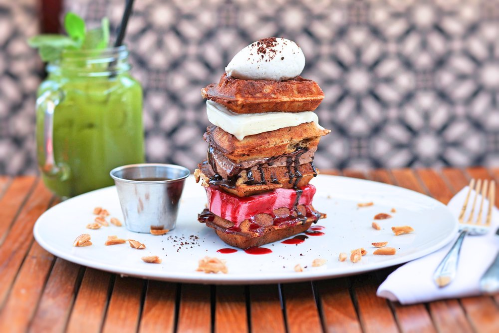 Waffle Tower at Catch LA